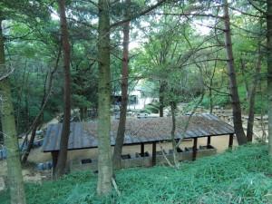 こちらは飯合炊さん場。水道などを利用できます。