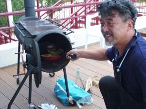 講師は元オテル・ド・摩耶総料理長  奥野シェフです!