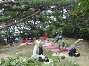 Aromaと山yoga @ まやビューライン星の駅集合