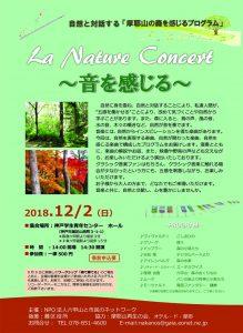 自然と対話する「摩耶山の森を感じるプログラム」 @ 神戸学生青年センターホール(神戸市灘区山田町3-1-1)