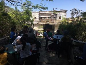 マヤ遺跡カフェ