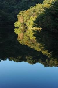 [穂高湖]10月の山撮り写真教室にて岡本先生撮影。