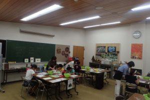 葉っぱを描こう @ 神戸市立森林植物園