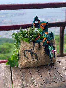 アウトドアクラフト「珈琲豆の麻袋で鞄をつくろう。」 @ 摩耶ビューテラス702(まやビューライン星の駅2階)