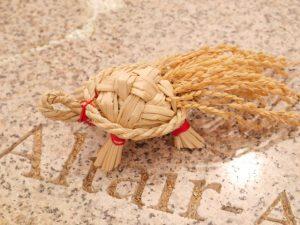 アウトドアクラフト「藁かめさんを作ろう。」 @ 摩耶ビューテラス702(摩耶ロープウェー星の駅2階)